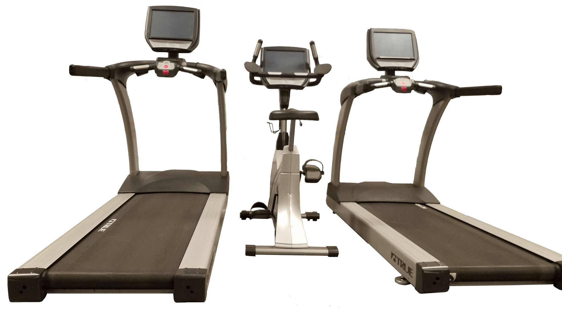 Pre-owned TRUE commercial cardio with embedded touchscreen TV/ display